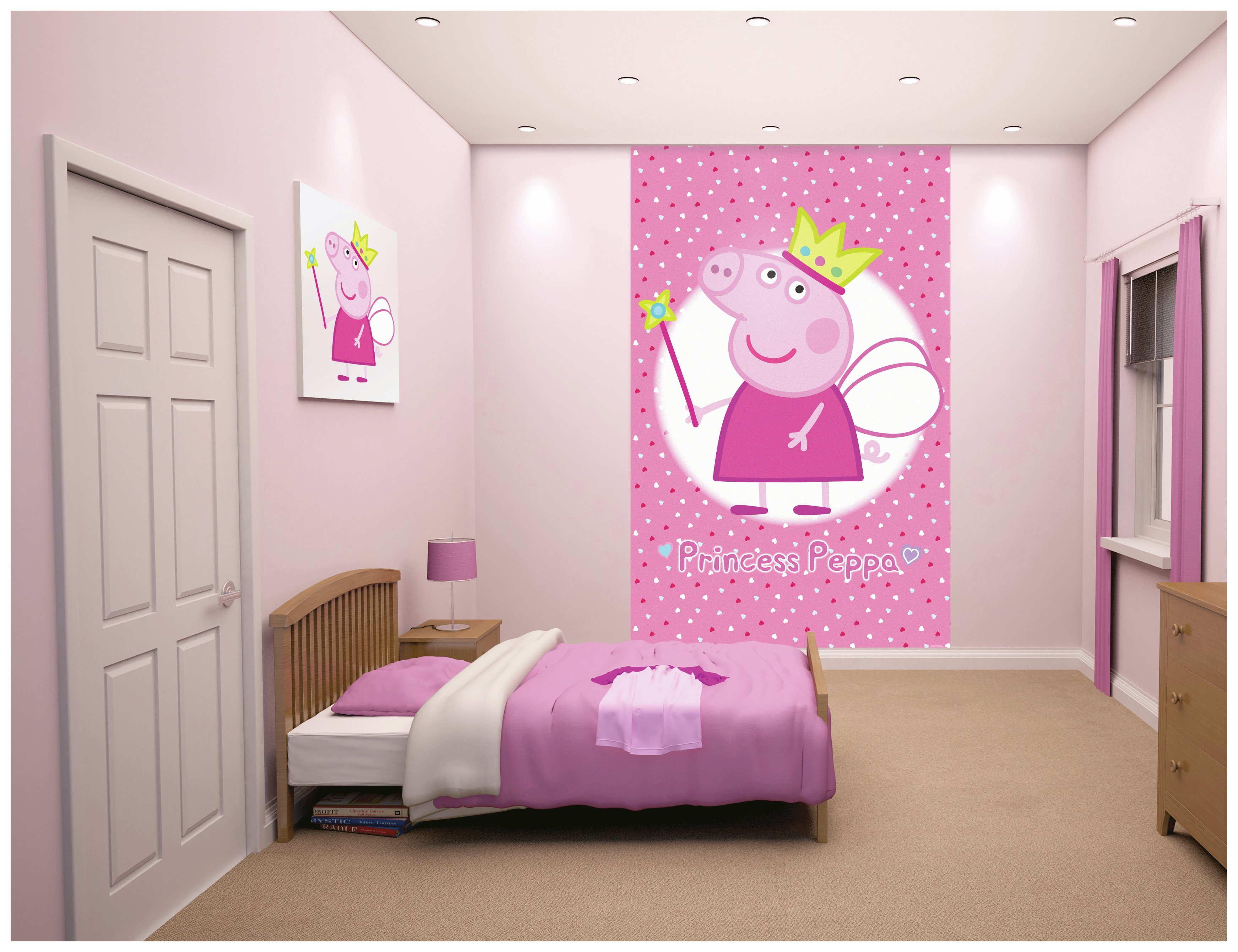 Peppa Pig Bedroom Furniture Buy 1wall Murals And Wall Stickers At Argoscouk Your Online