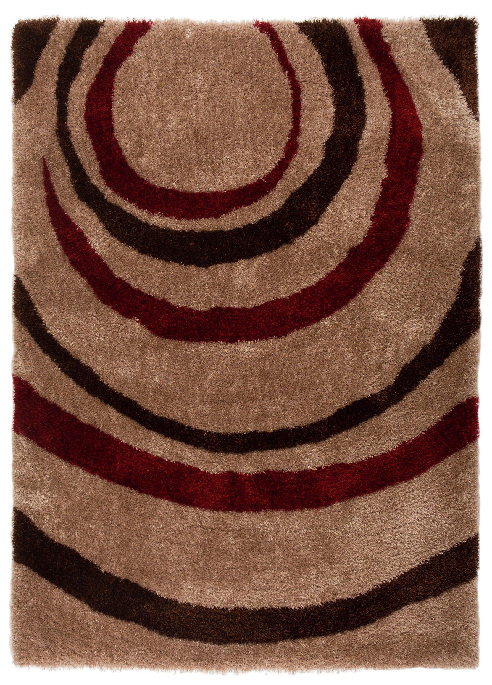 equator rug 160x230cm red. Black Bedroom Furniture Sets. Home Design Ideas