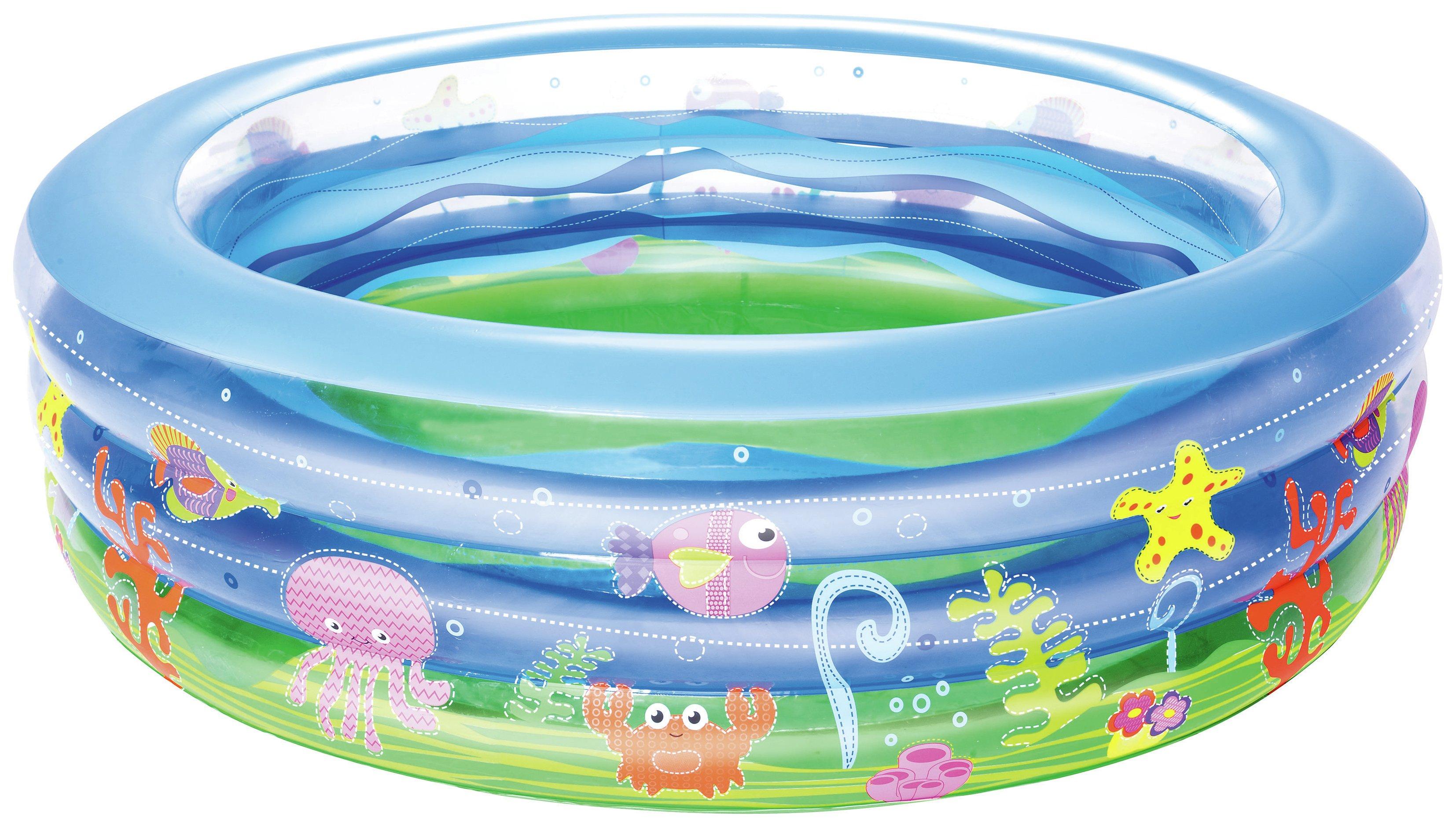 Image of Bestway Summer Wave Crystal Pool - 6.5ft - 700 Litres.
