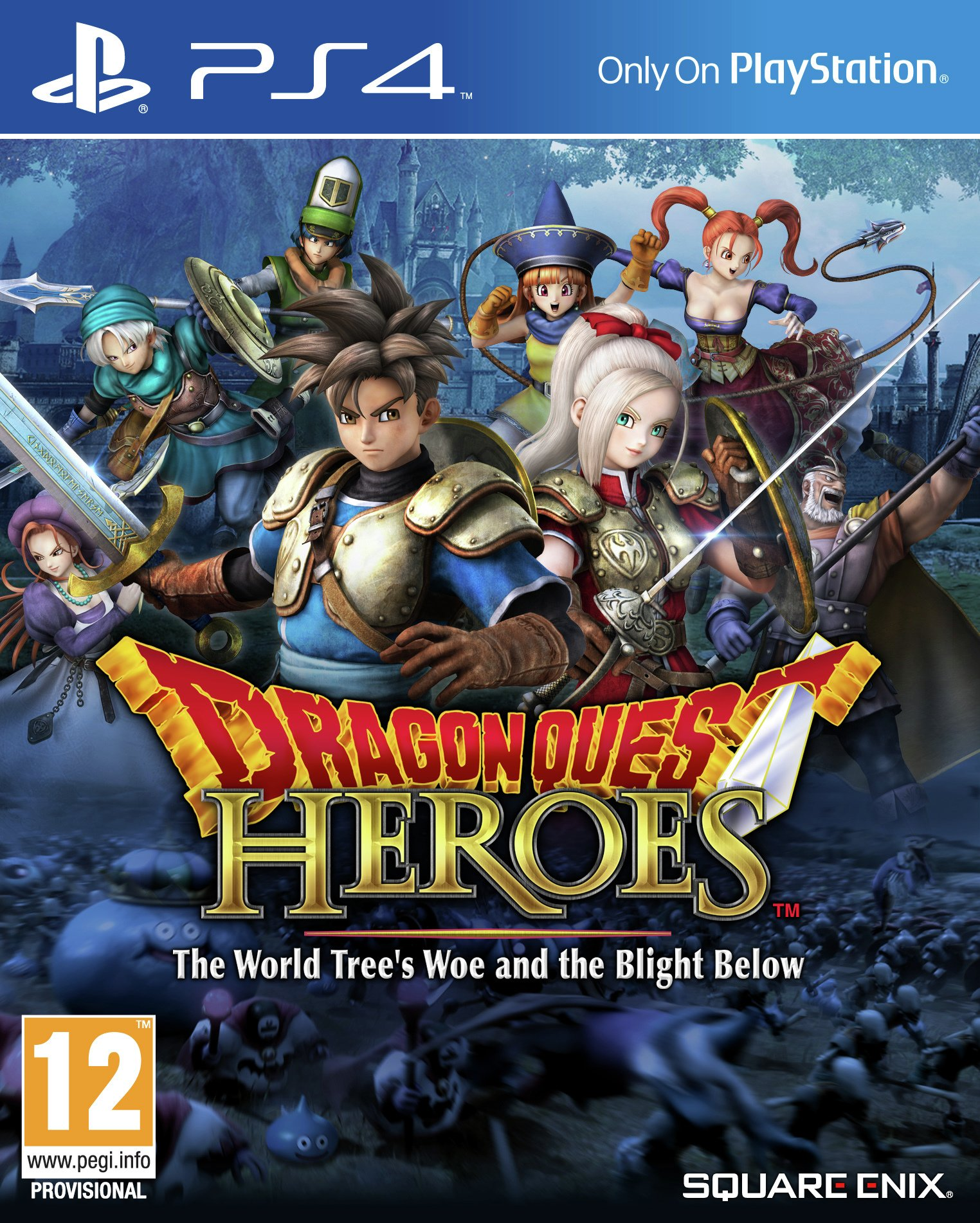 Dragon Quest: Heroes PS4 Game