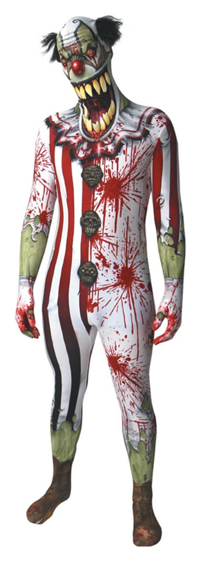 Image of Clown Jaw Dropper Morphsuit - Large.