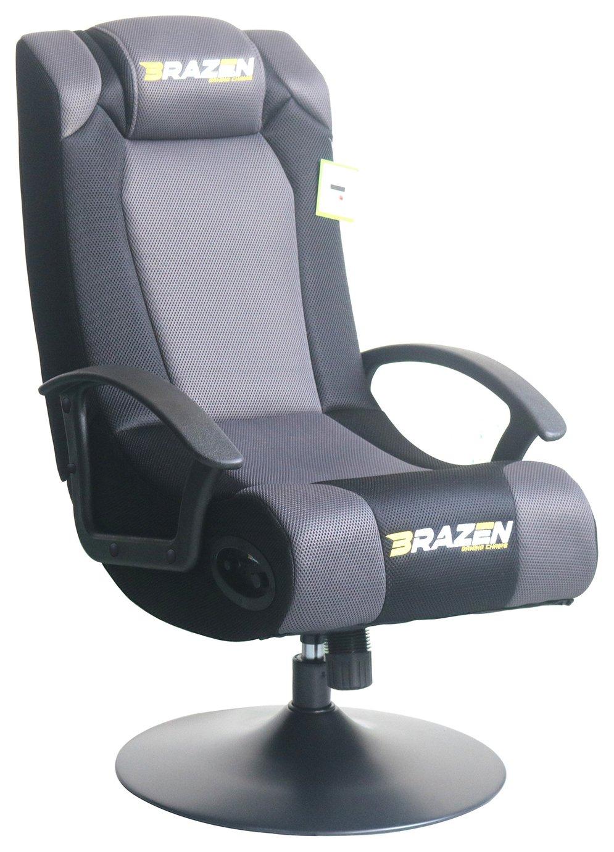 Stupendous Brazen Stag 2 1 Surround Sound Gaming Chair 5195697 Evergreenethics Interior Chair Design Evergreenethicsorg