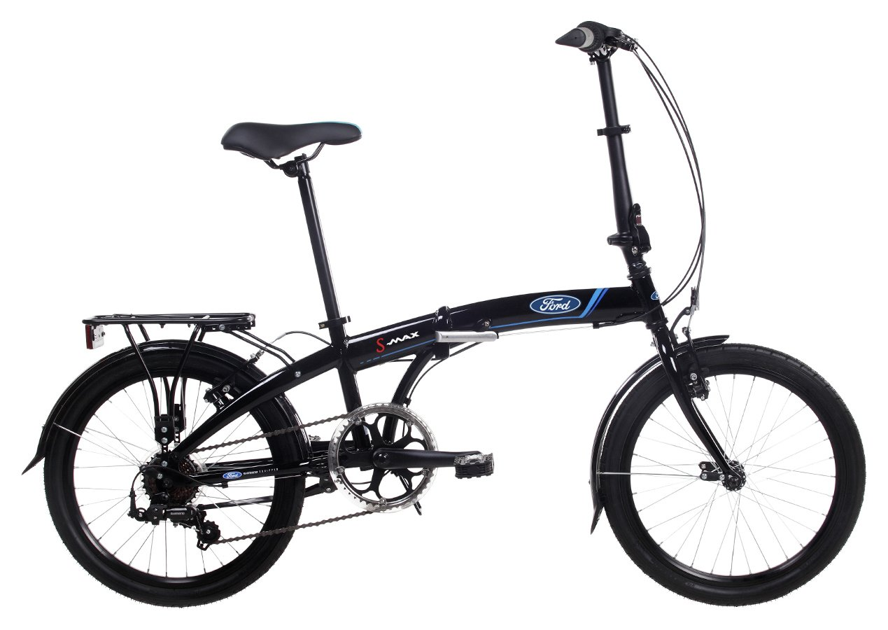 Image of Ford S Max 20 inch Folding Bike - Unisex