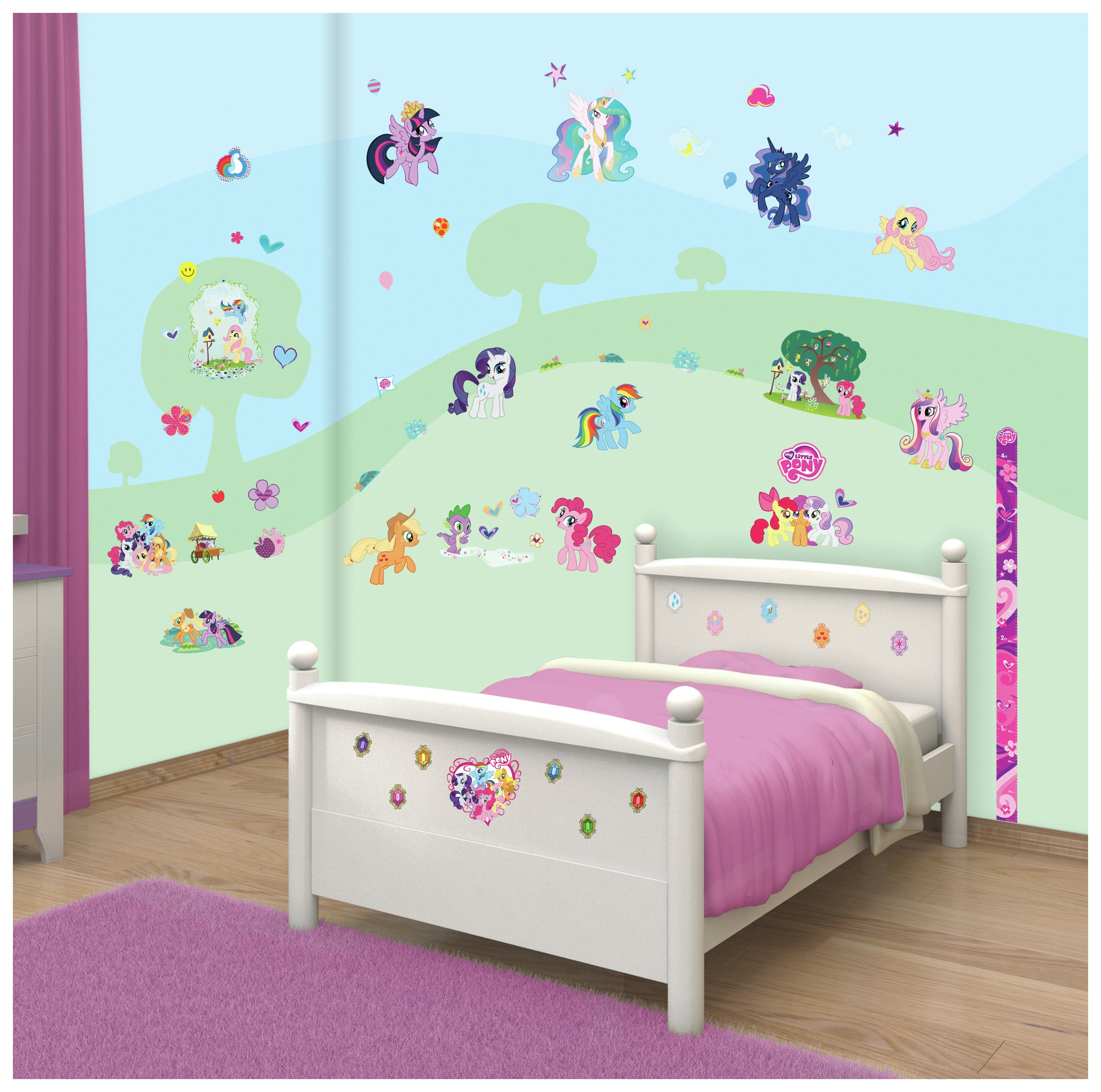 Walltastic My Little Pony Room Decor Kit Part 56