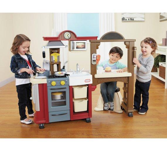 Buy Little Tikes Kitchen & Restaurant - Red at Argos.co.uk - Your ...
