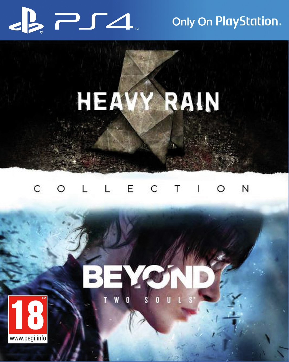 Heavy Rain & Beyond: Two Souls Collection PS4 Game