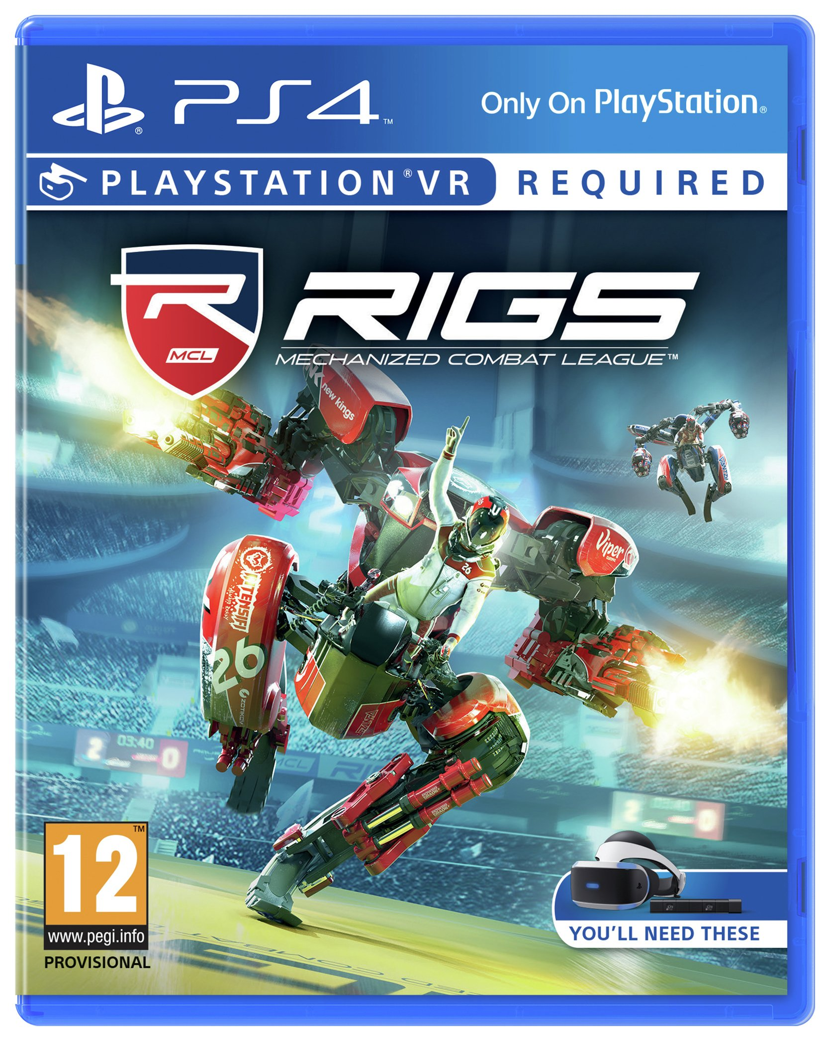 RIGS: Mechanised Combat League PS4 Game