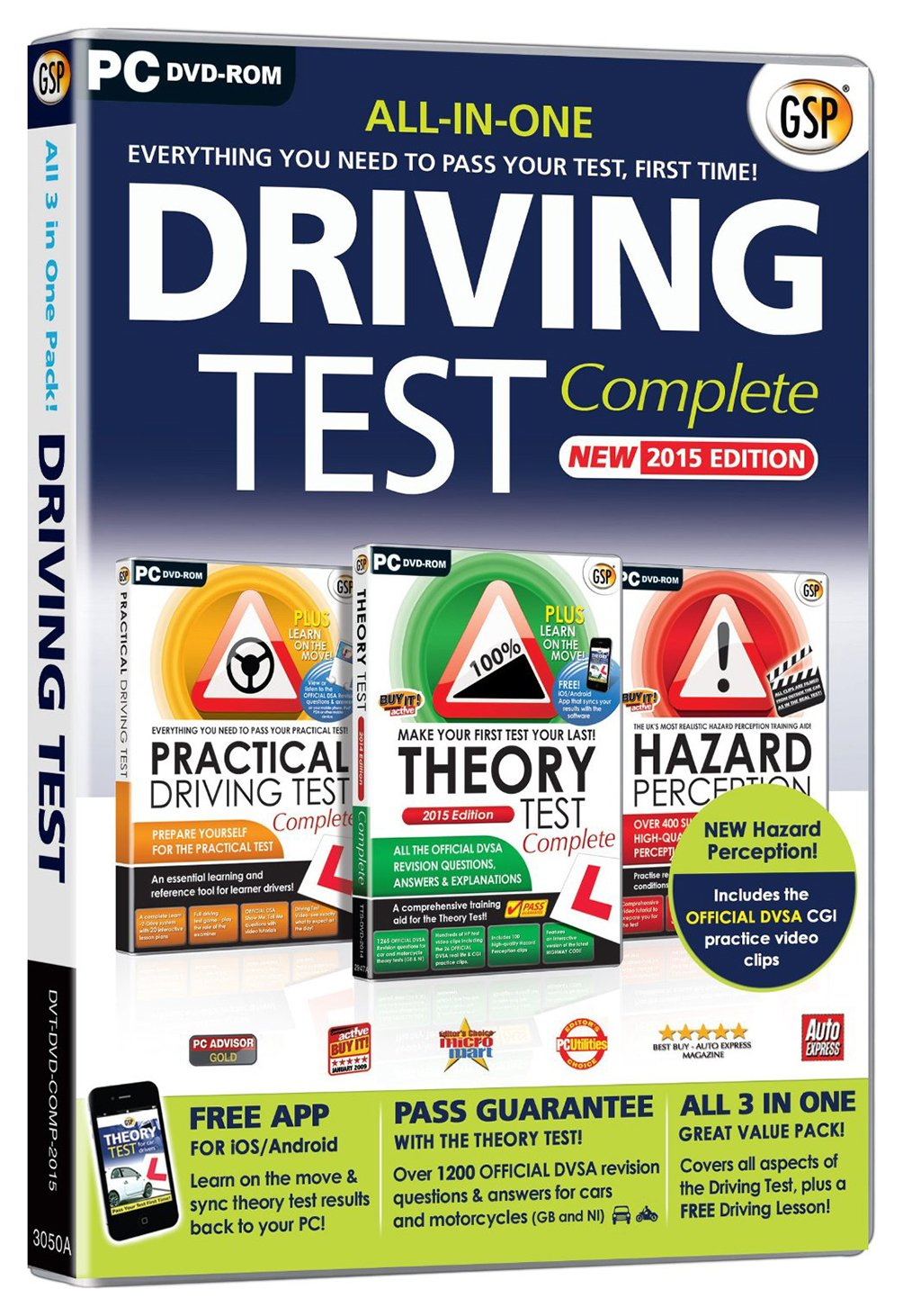 Image of Driving Test Complete 2015 PC Package