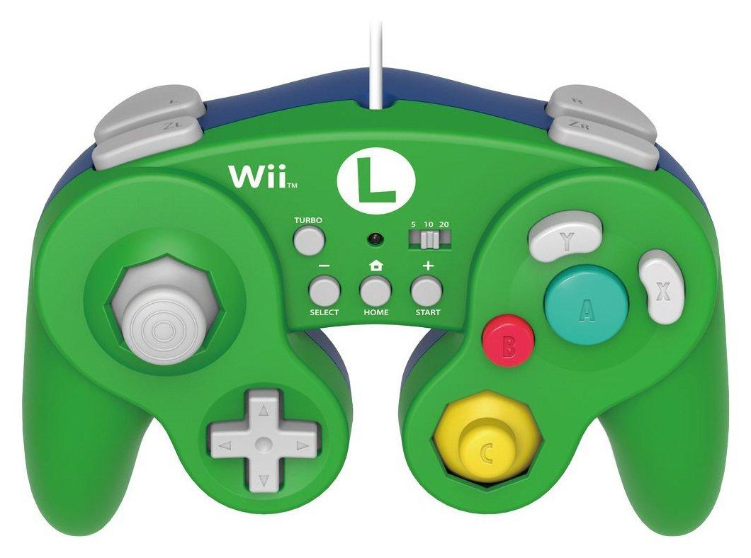 Hori Nintendo - Wii U Super Mario Bros Luigi Controller