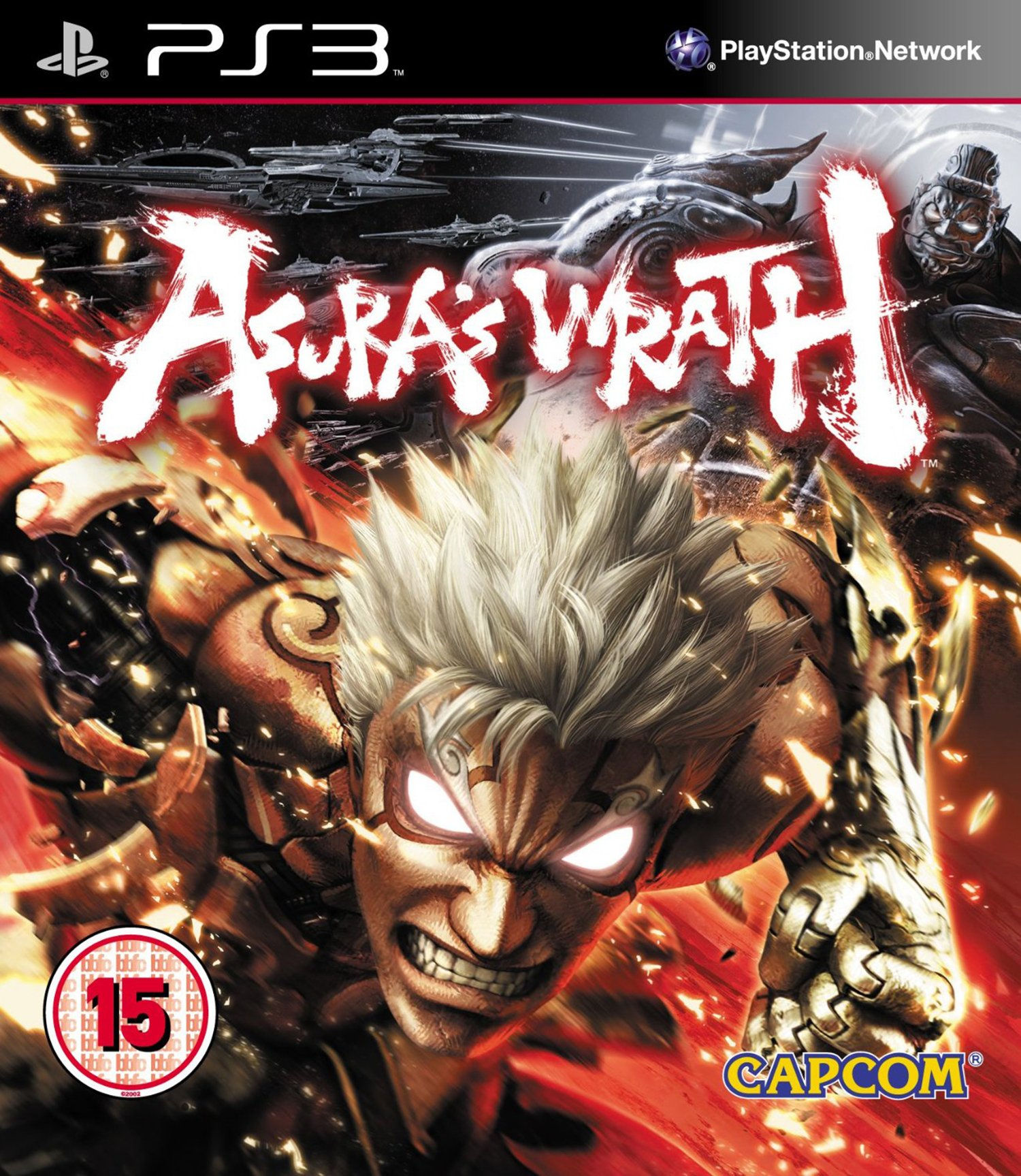 Image of Asura's Wrath - PS3 Game.
