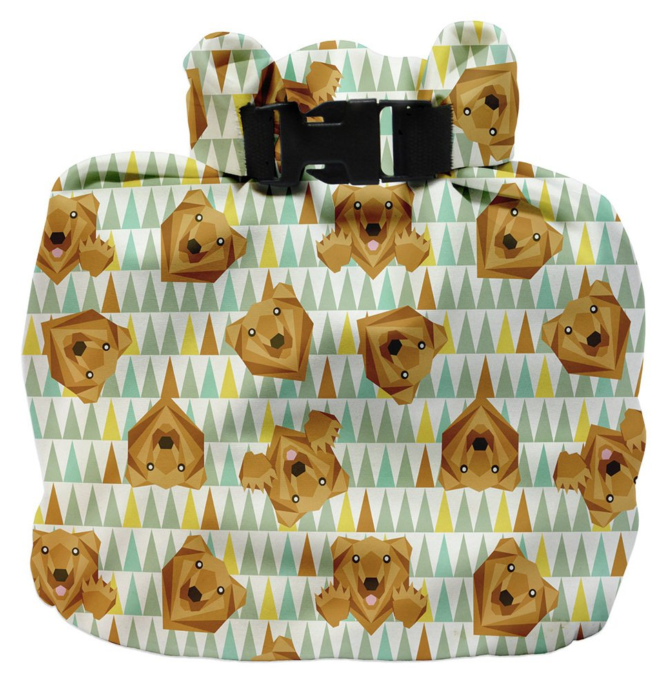 Image of Bambino Mio Wet Nappy Bag - Grizzly.