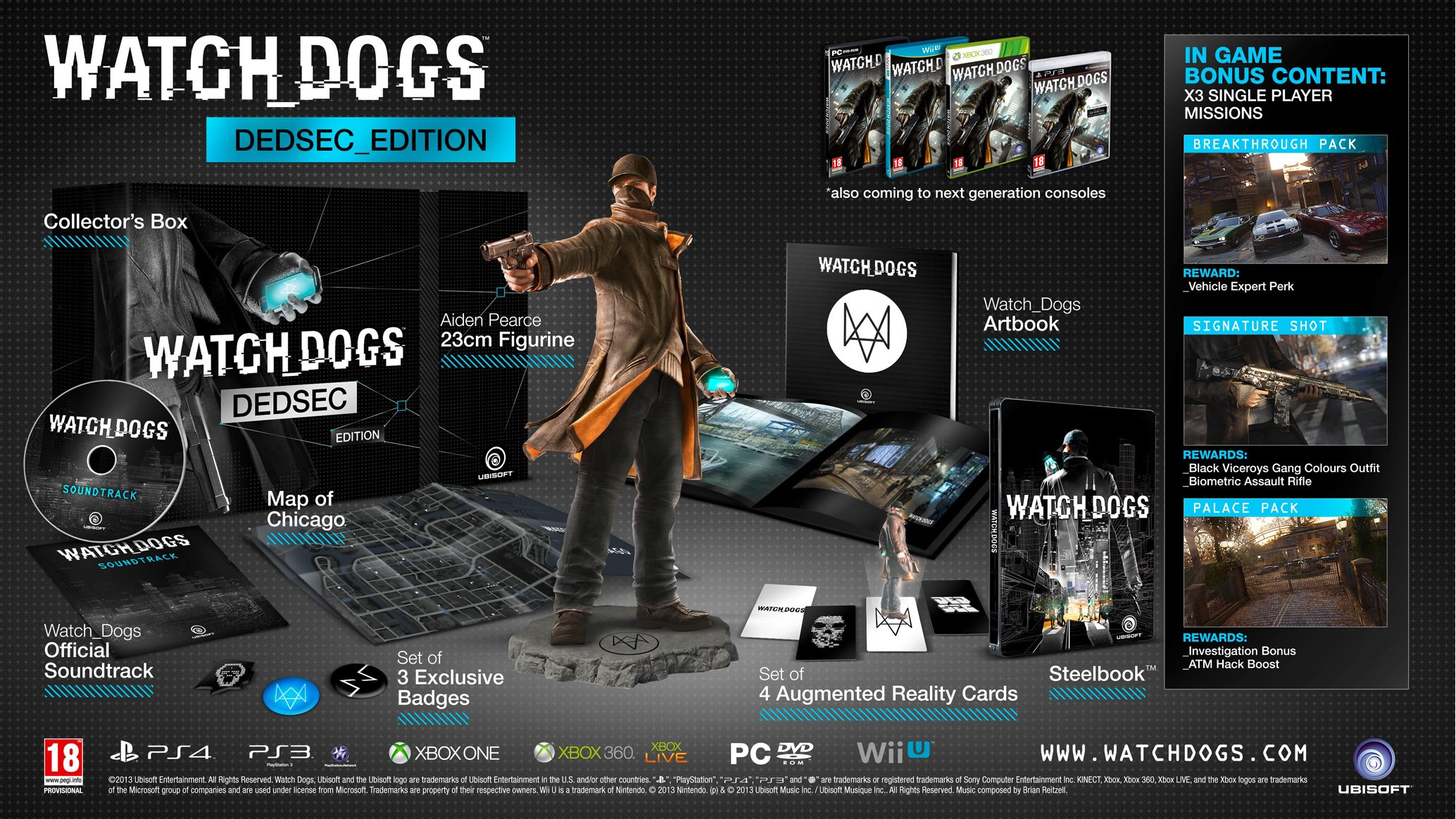 Xbox one Watch Dogs DEDSEC Edition Xbox One Game.