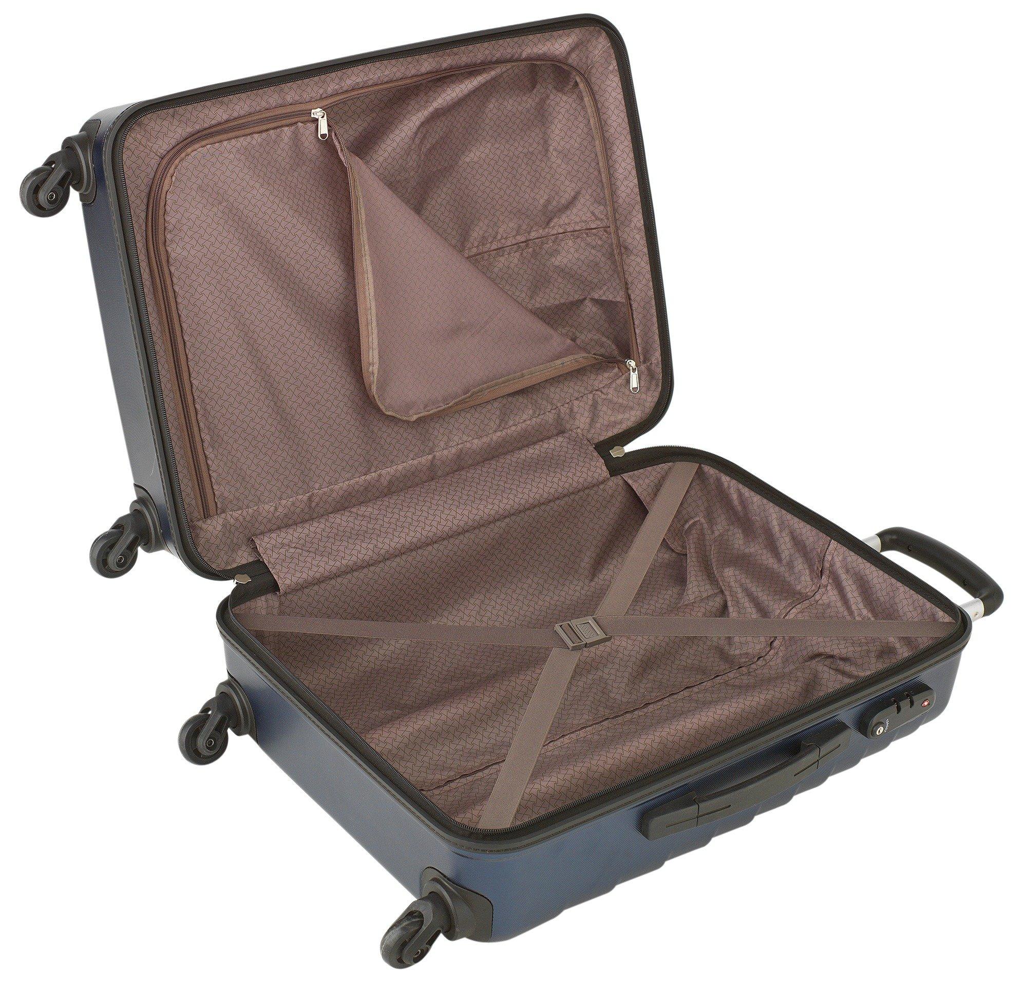 Buy Go Explore Signature Ultra Light Hard Large 4 Wheel Suitcase ...