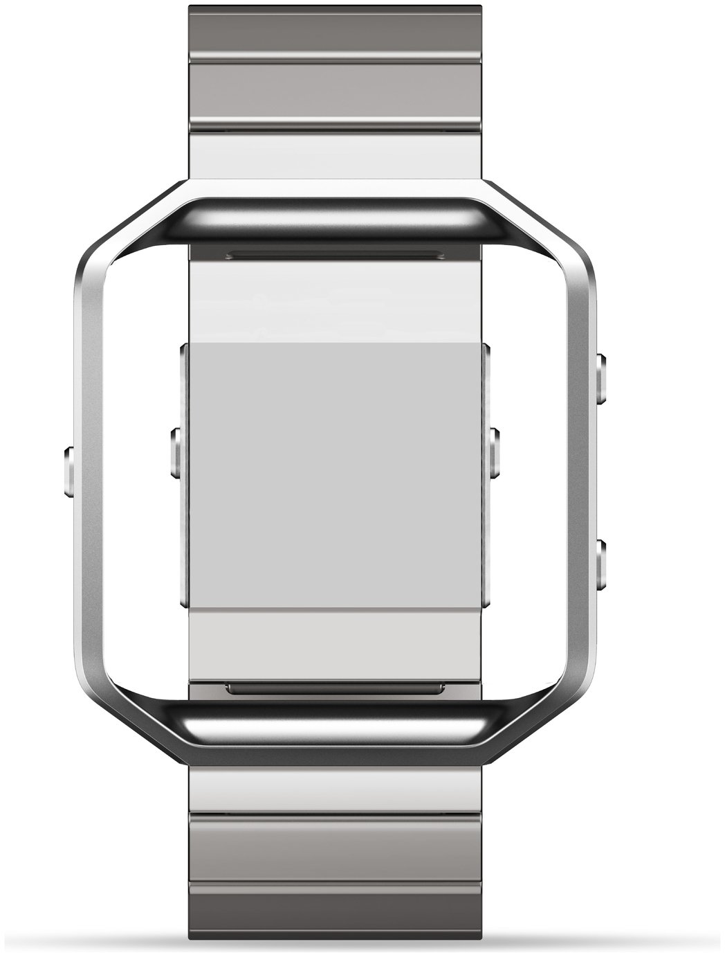 Image of Fitbit - Blaze Metal Link Accessory Band - Silver