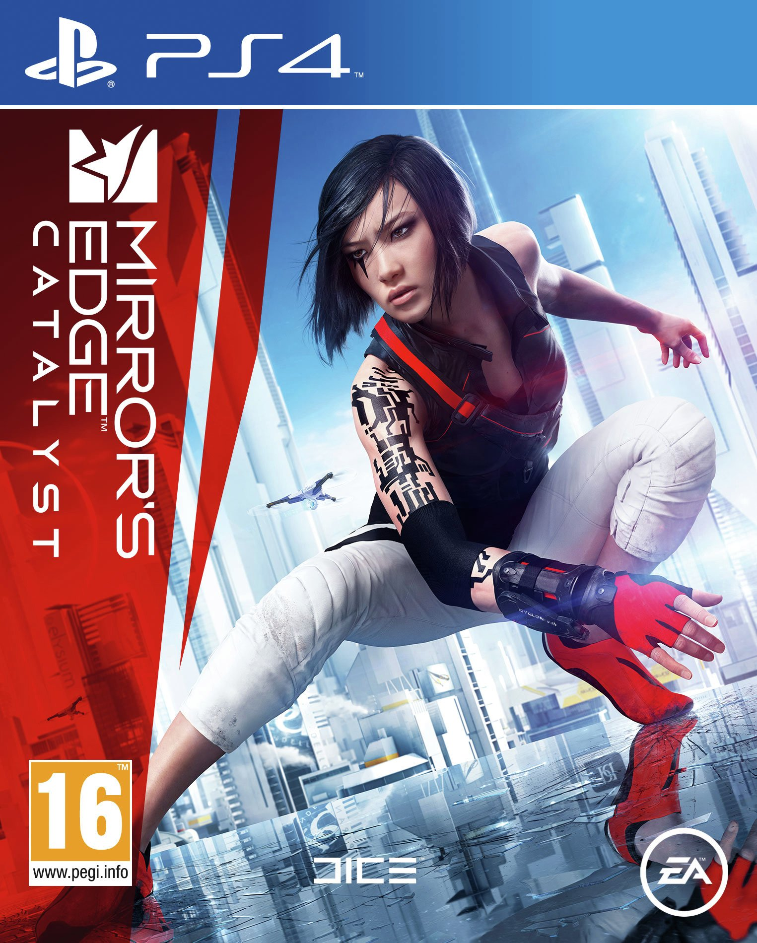 EA Mirrors Edge - Catalyst - PS4 Game.