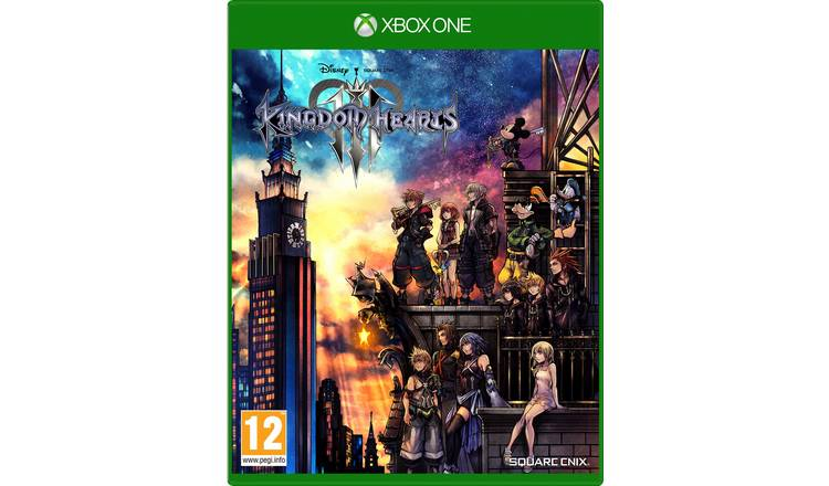 Kingdom Hearts III Xbox One Pre-order Game.