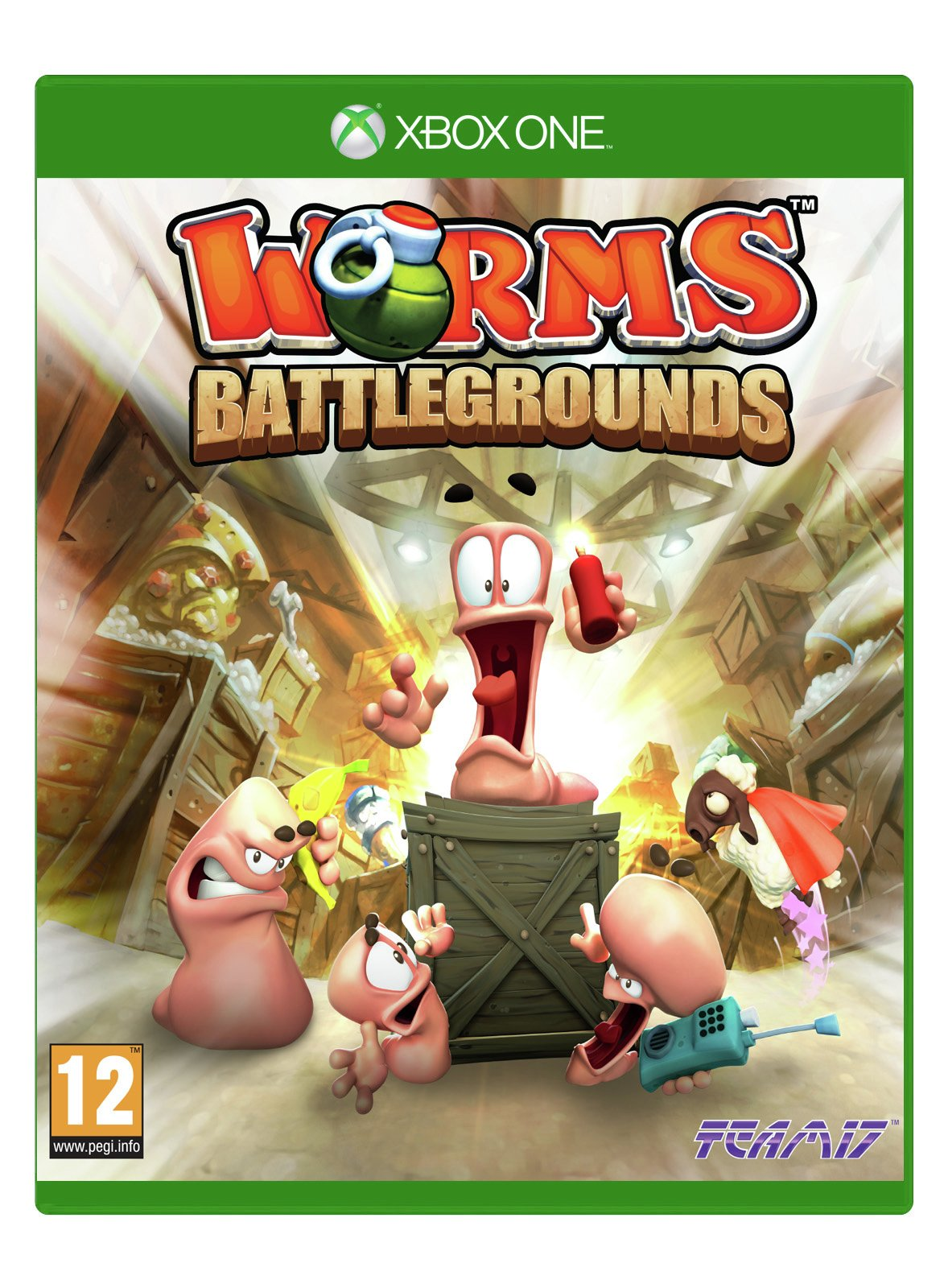Worms Battlegrounds - Xbox - One Game.