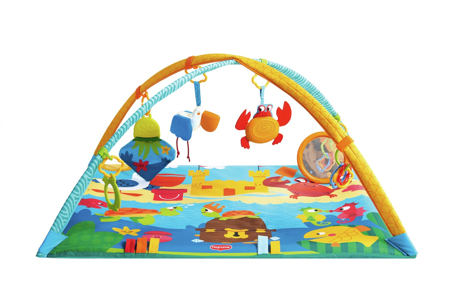sale on tiny love gymini under the sea play mat tiny. Black Bedroom Furniture Sets. Home Design Ideas