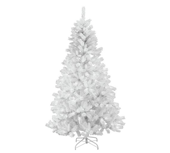 Collection 7ft Pre-Lit Christmas Tree - White