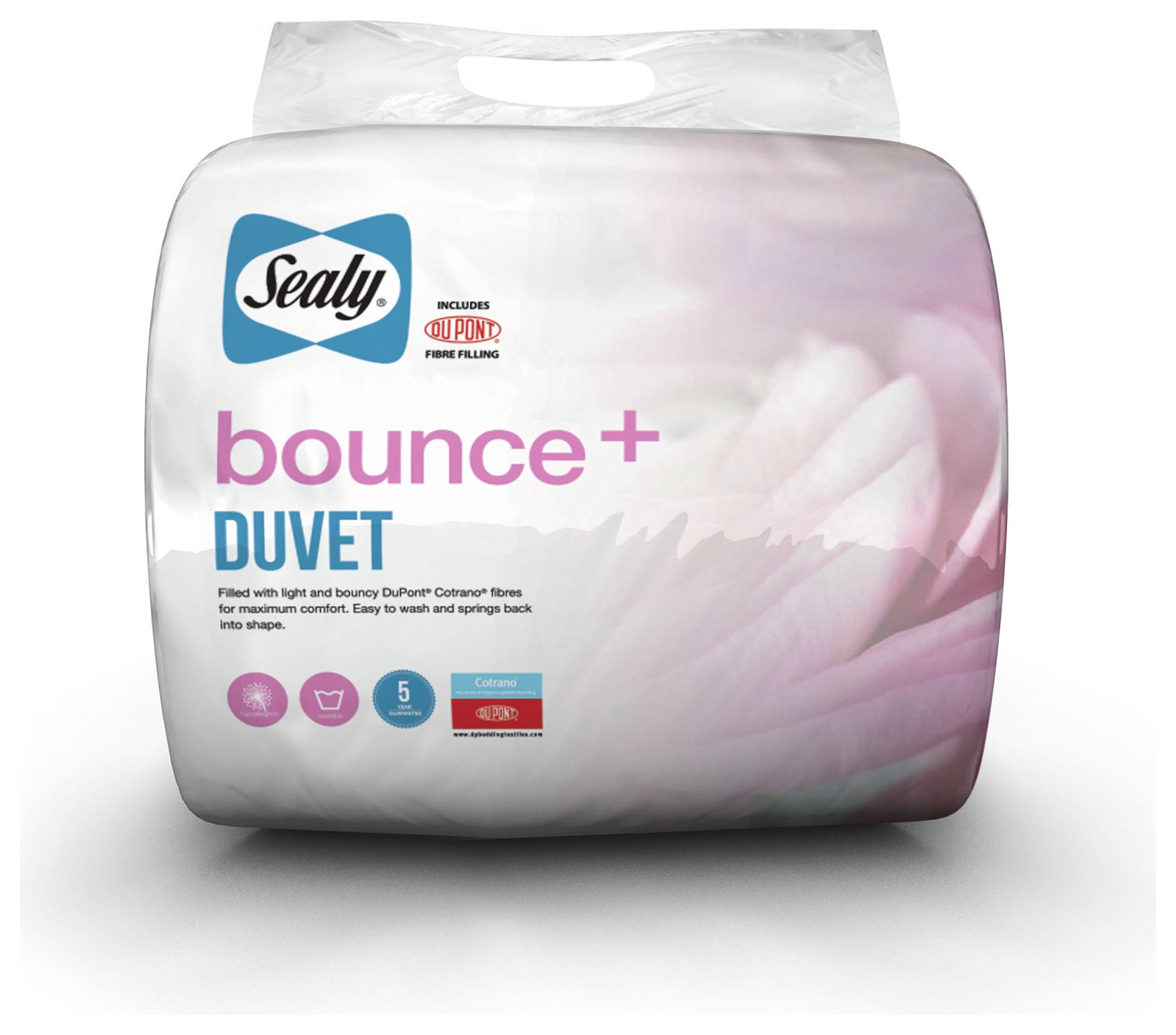 sealy  bounce 105 tog  duvet  double