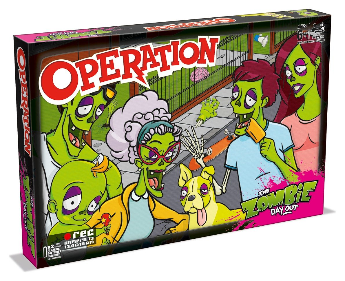 Zombie Operation Board Game.