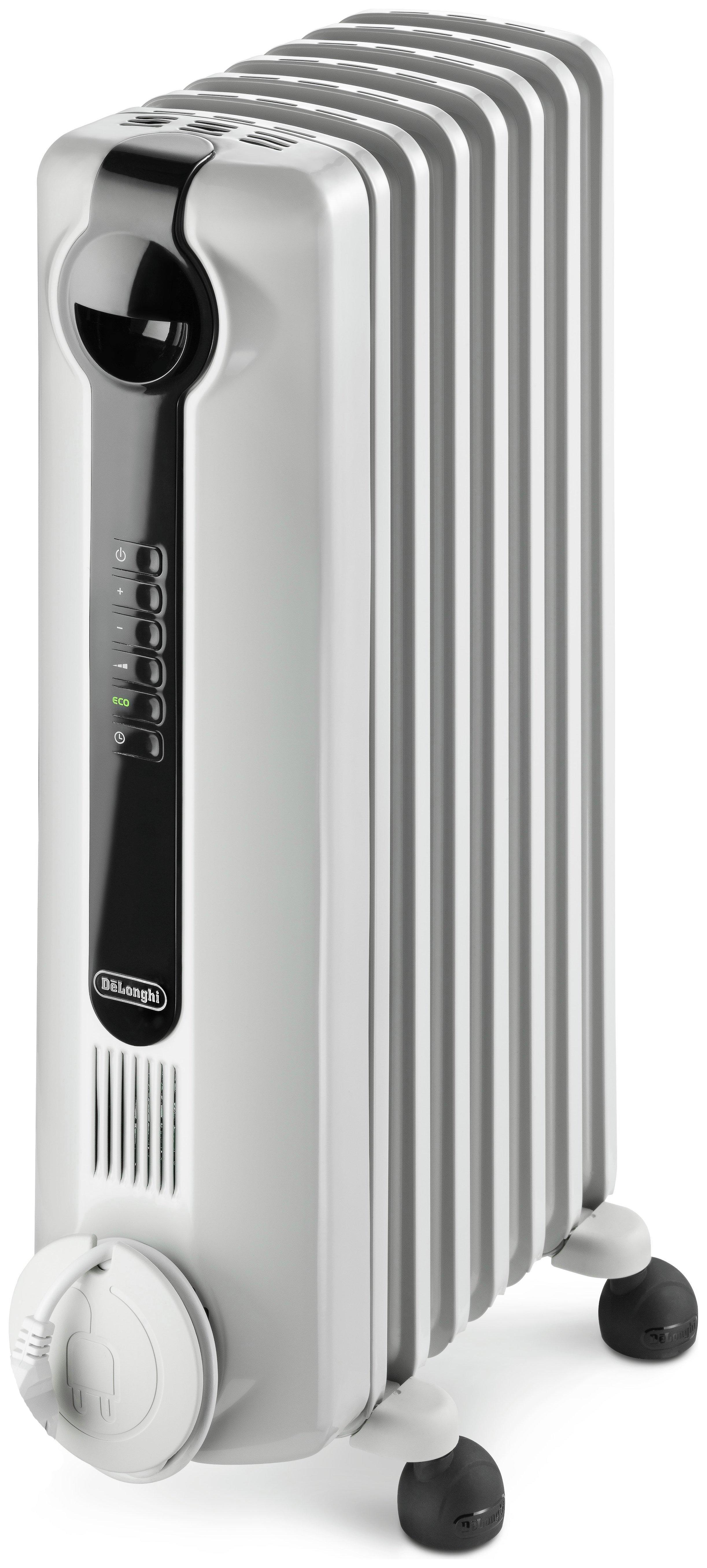 de 39 longhi radia s oil filled radiator 5219030. Black Bedroom Furniture Sets. Home Design Ideas