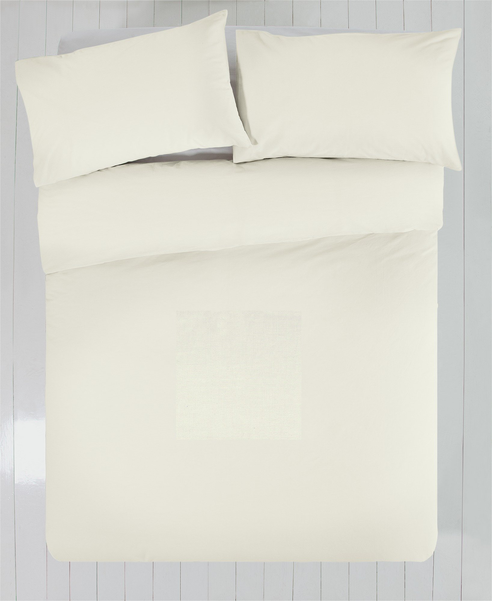 Heart of House - Ivory Egyptian Cotton - Bedding Set - Double