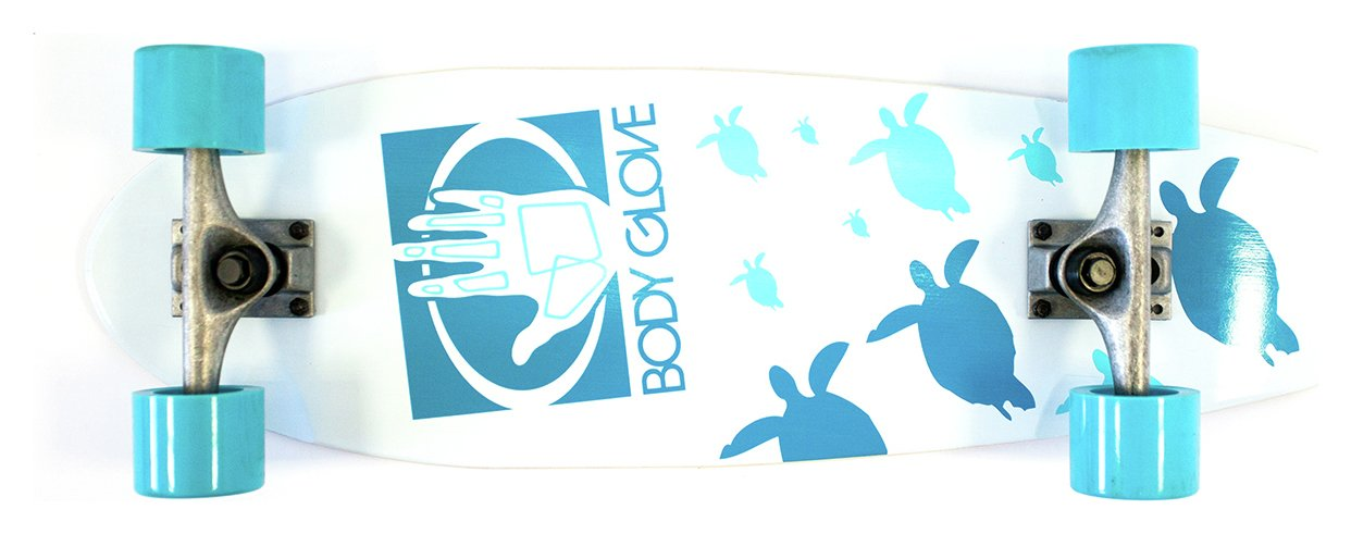 Image of Body Glove Turtle Beach 27 Inch Cruiser Skateboard.