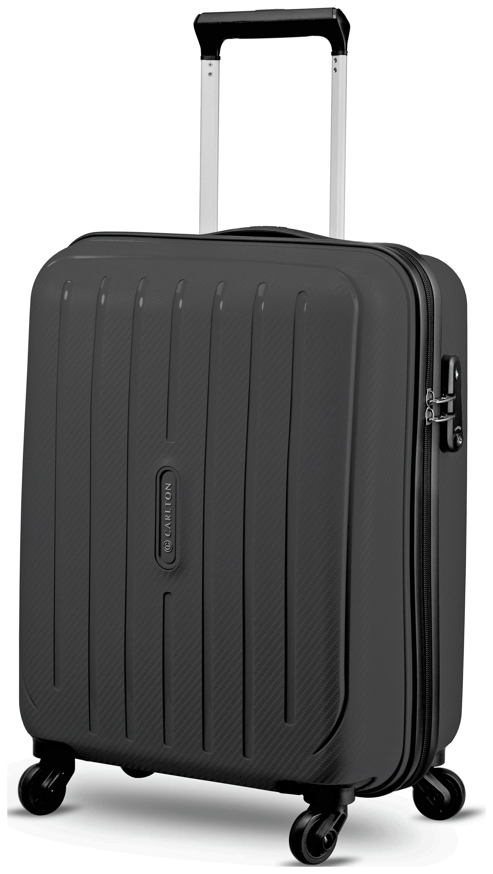 Image of Carlton - Pheonix Small 4 Wheel Hard Suitcase - Black