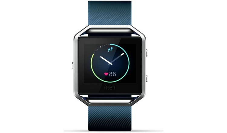 Buy Fitbit Blaze Large Smart Watch - Blue | Limited stock Sports and  leisure | Argos