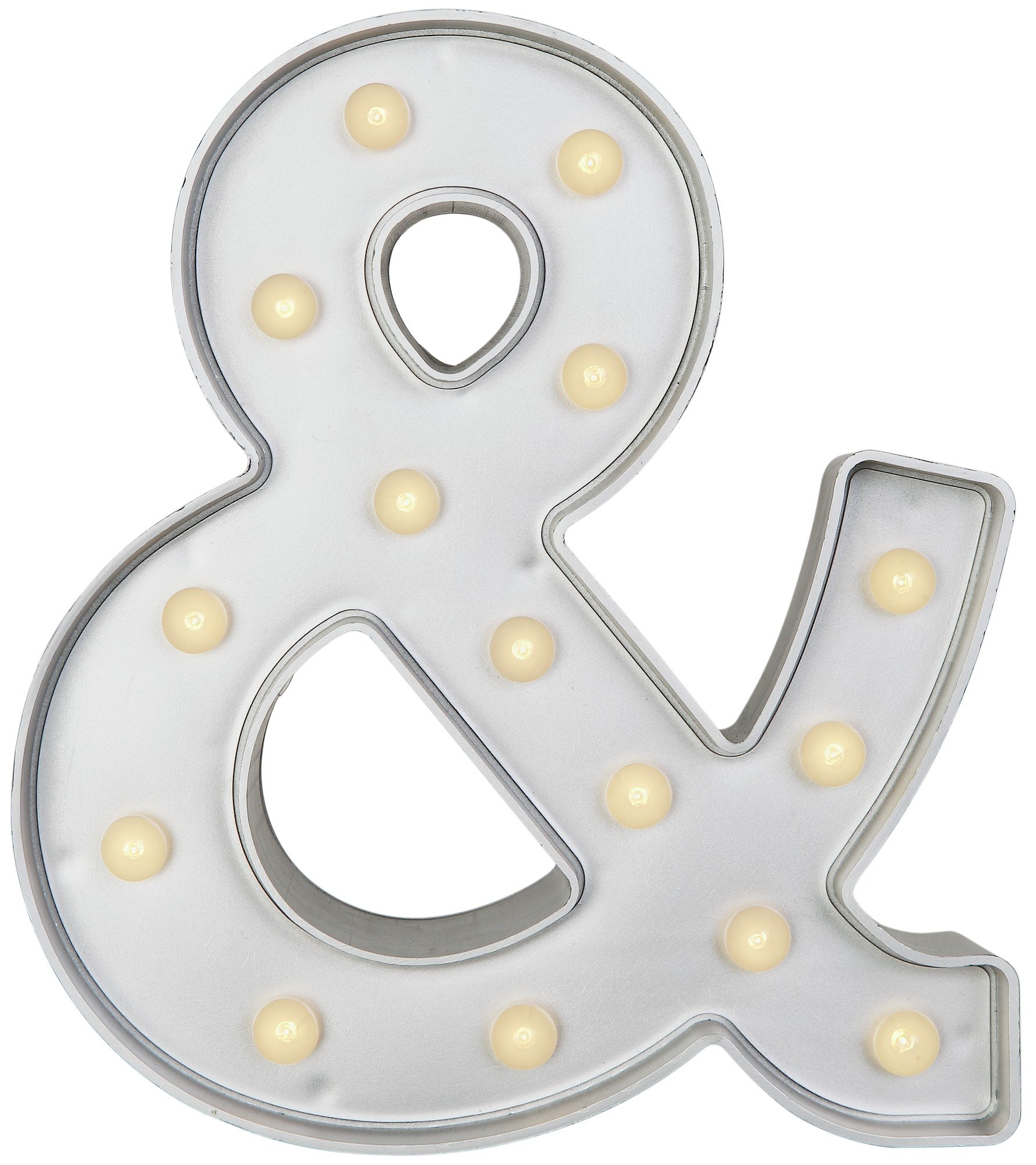 HOME - Ampersand Light - Silver