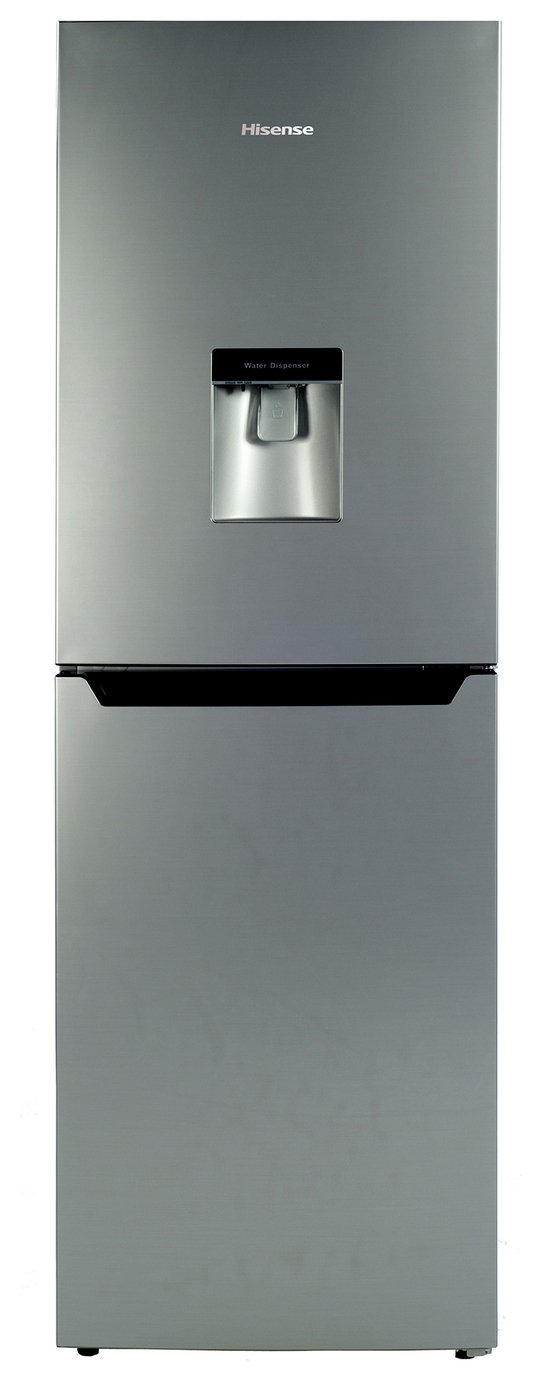 Hisense RB320D4WG1 Fridge Freezer - Silver