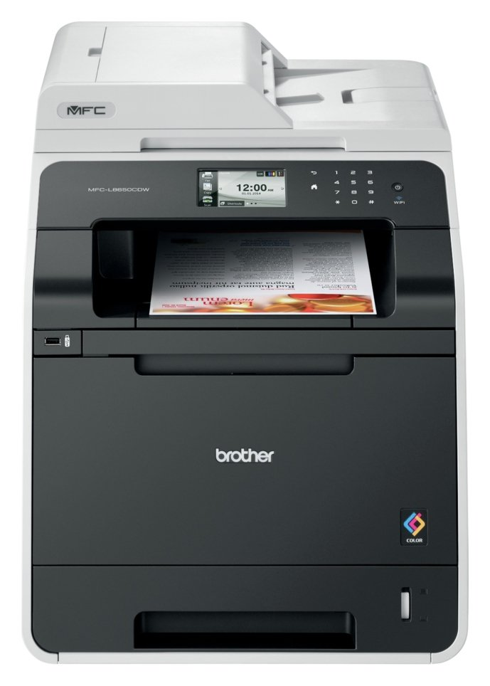 Brother - MFC-L8650CDW All-in-One Colour Printer & Fax