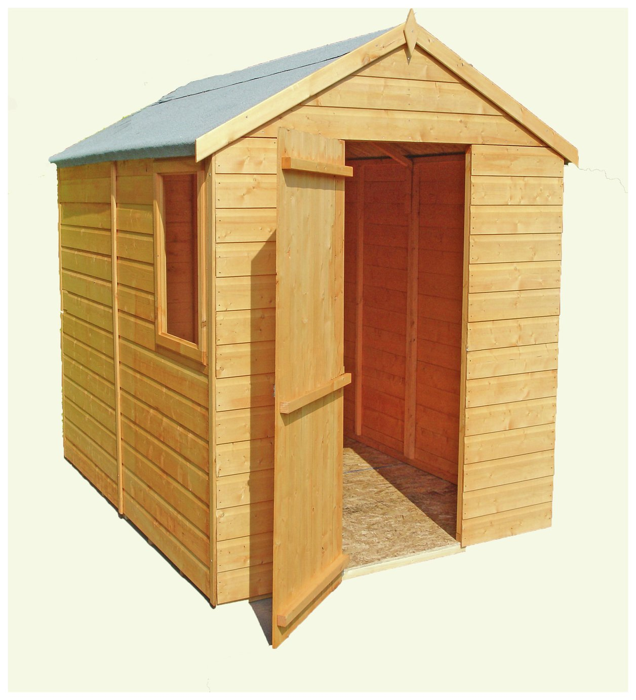 Homewood Wooden 7 x 5ft Shiplap Shed