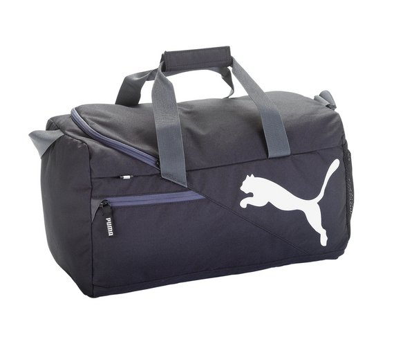 Puma Black Fundamental Sports Bag