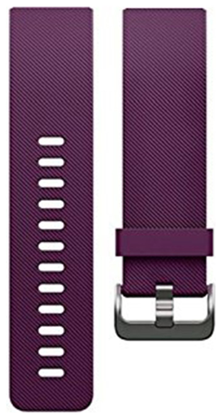 Image of Fitbit - Blaze Small Classic Accessory Band - Plum