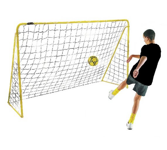 Buy kickmaster 6 foot premier goal football goals argos kickmaster 6 foot premier goal reheart Images