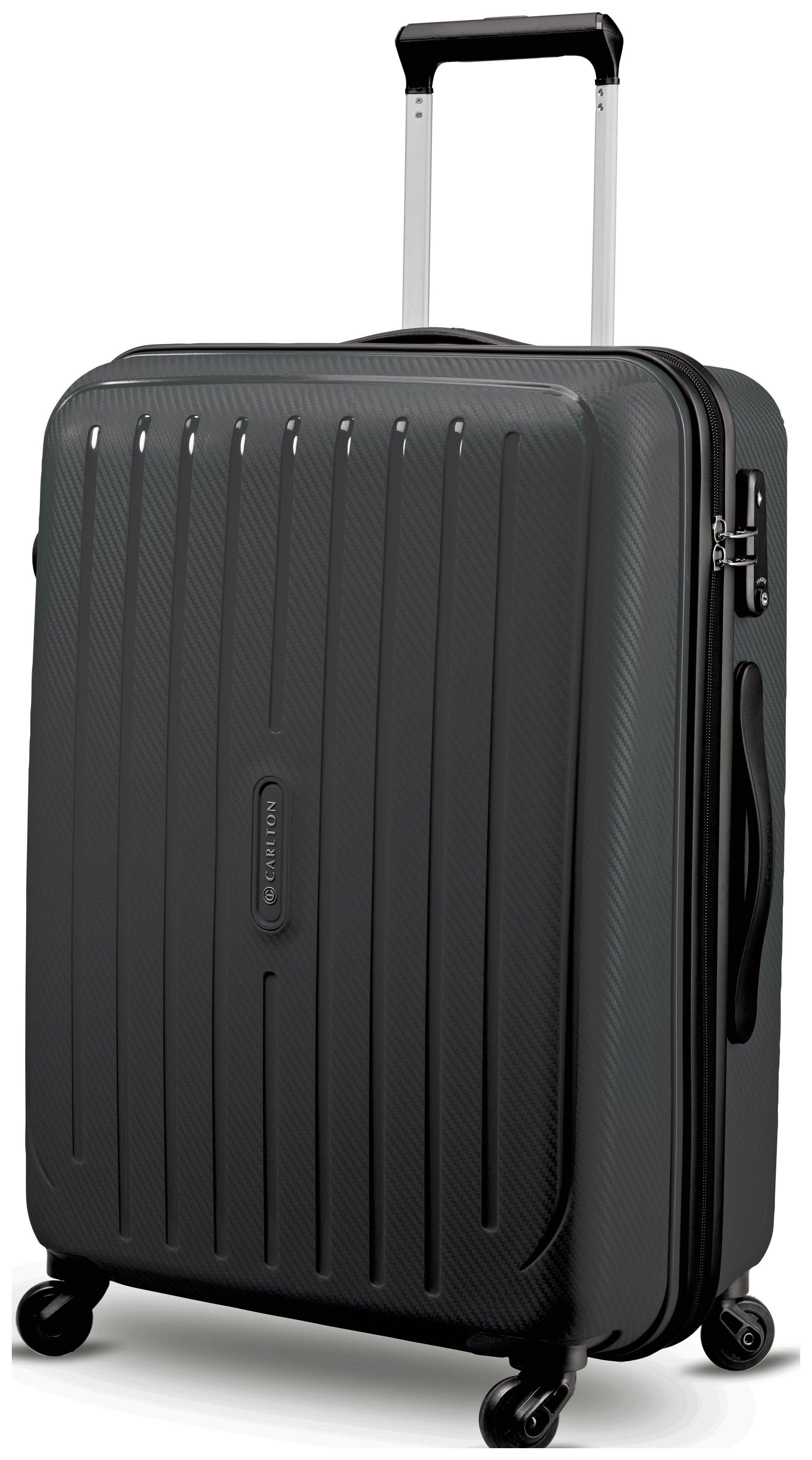 Buy Carlton Pheonix Large 4 Wheel Hard Suitcase - Black at Argos ...