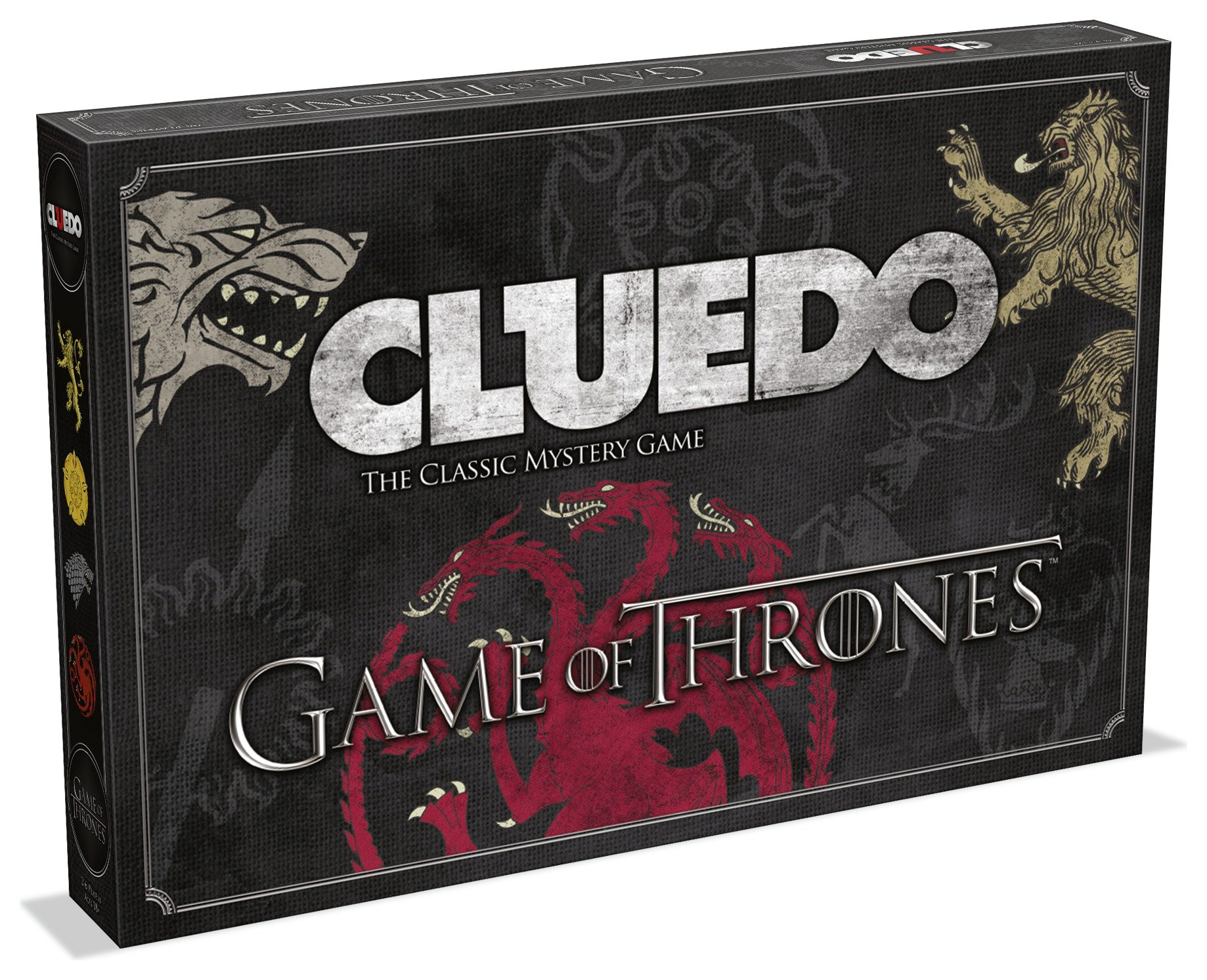 Image of Cluedo Game of Thrones Mystery Board Game