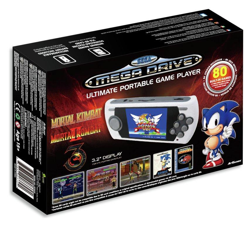 Sega megadrive portable games console for Ptable games