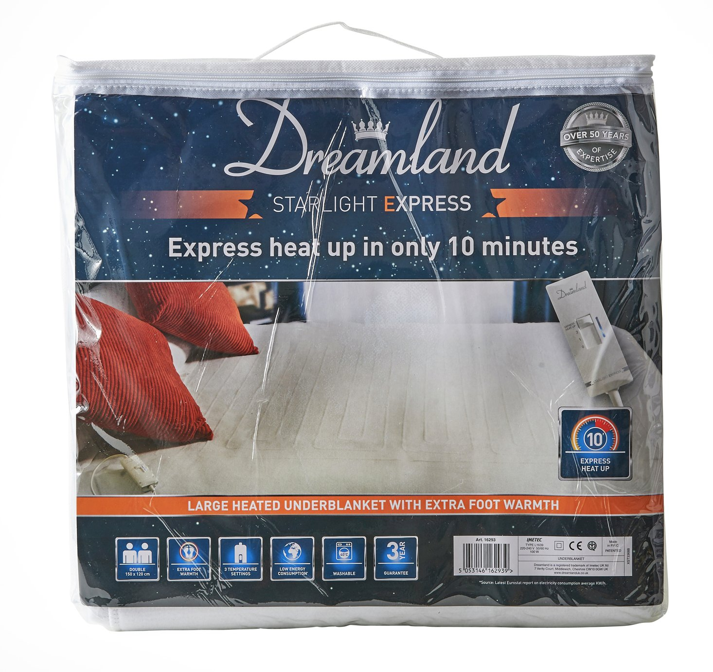 Dreamland Starlight Express Heated Underblanket review