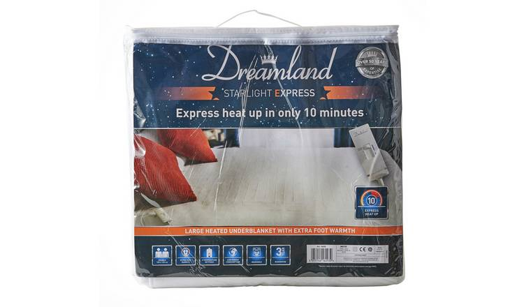 Dreamland Starlight Express Heated Underblanket - Kingsize