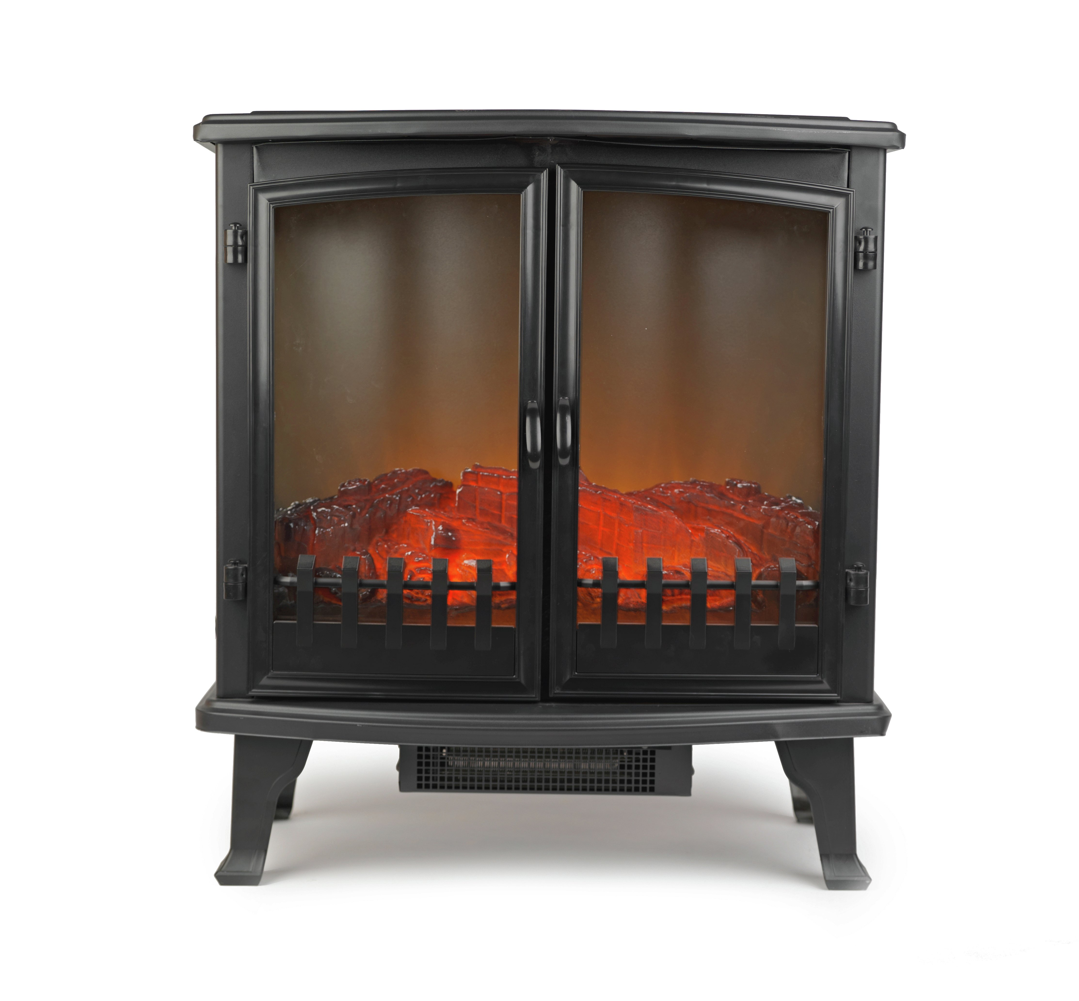 Beldray Alcudia Glass Side Electric Stove
