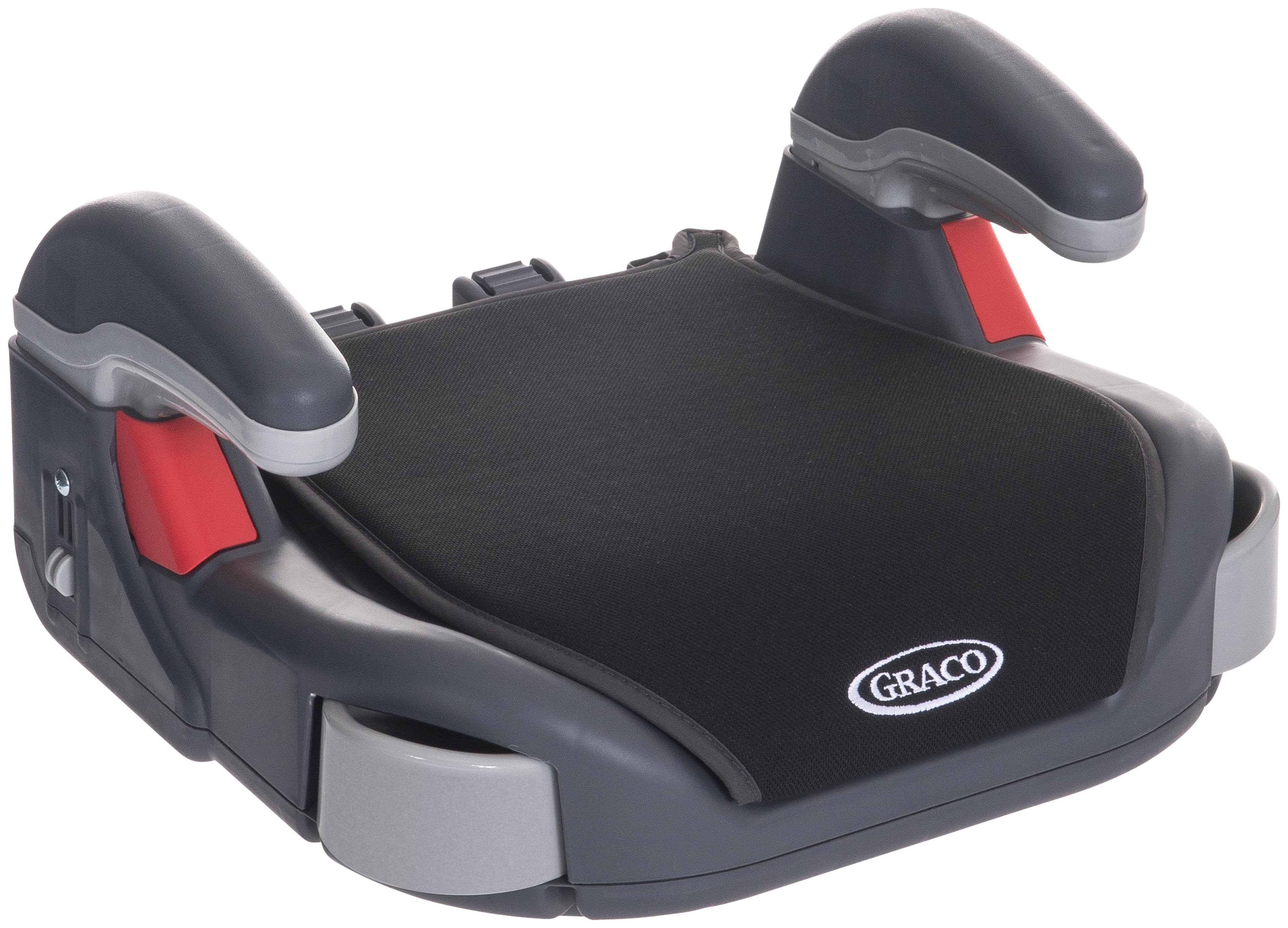 Image of Graco Midnight Black Basic Booster Seat.
