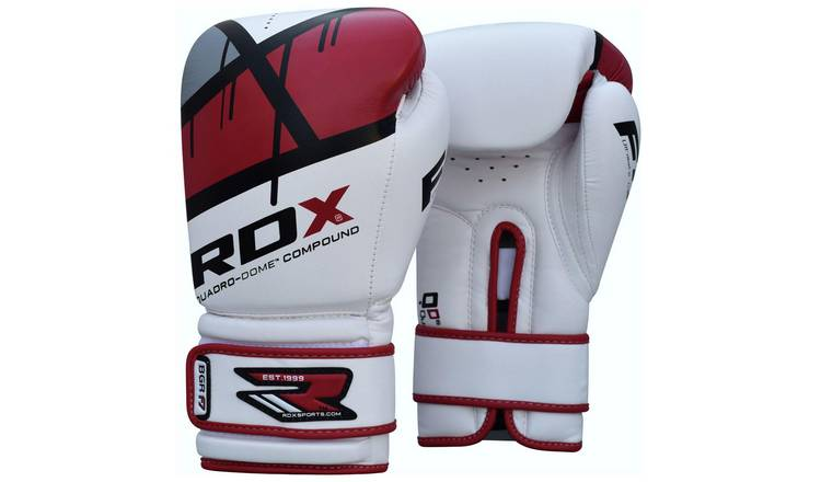 RDX Synthetic Leather 14oz Boxing Gloves - Red