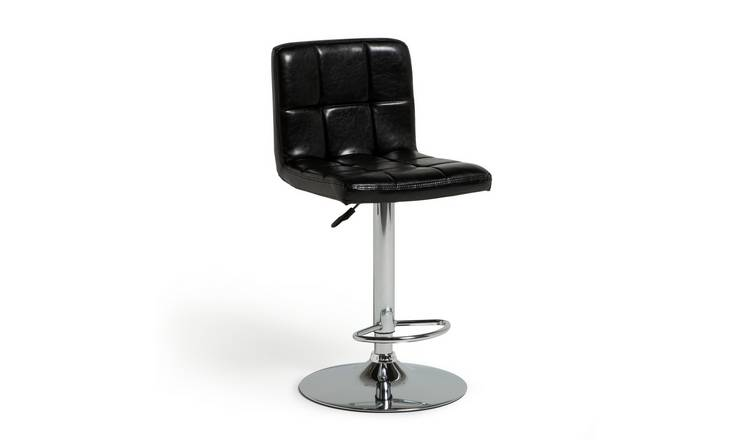 Argos Home Nitro Bar Stool - Black