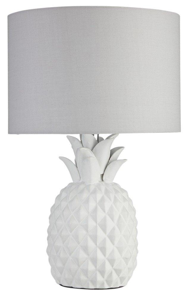 Heart of House - Algard Pineapple - Table Lamp - White