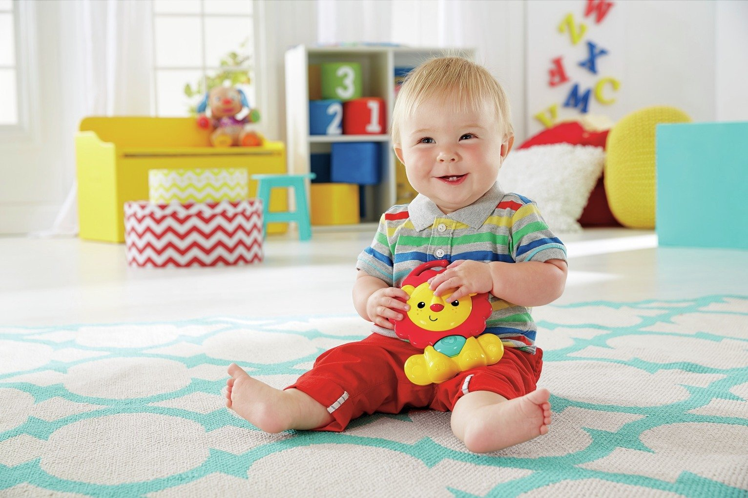 Image of Fisher-Price - 3in1 Musical Activity Gym