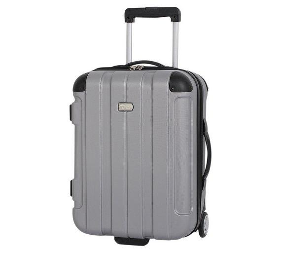 Buy Go Explore Hard Small 2 Wheel Case - Silver at Argos.co.uk ...