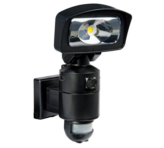 Outdoor Security Lights With Sensor Argos: Buy Nightwatcher 400W LED Light HD Camera